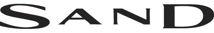 sand logo svart