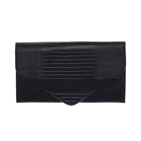 lunga-black-silver-wallet